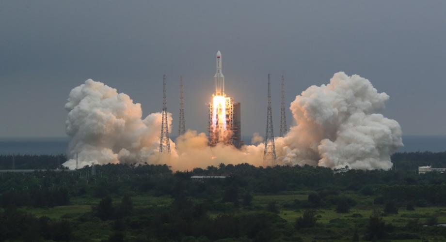 Fin de course pour la fusée chinoise!