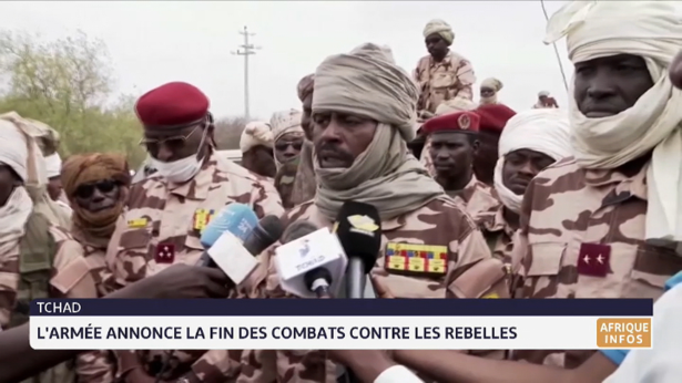 Tchad: l'armée annonce la fin des combats contre les rebelles
