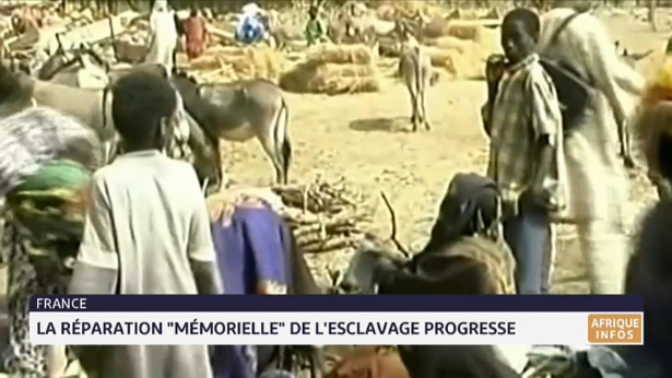 """France: la réparation """"mémorielle"""" de l'esclavage progresse"""