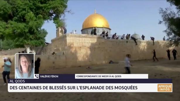 Al-Qods: nouveaux affrontements sur l'esplanade des mosquées