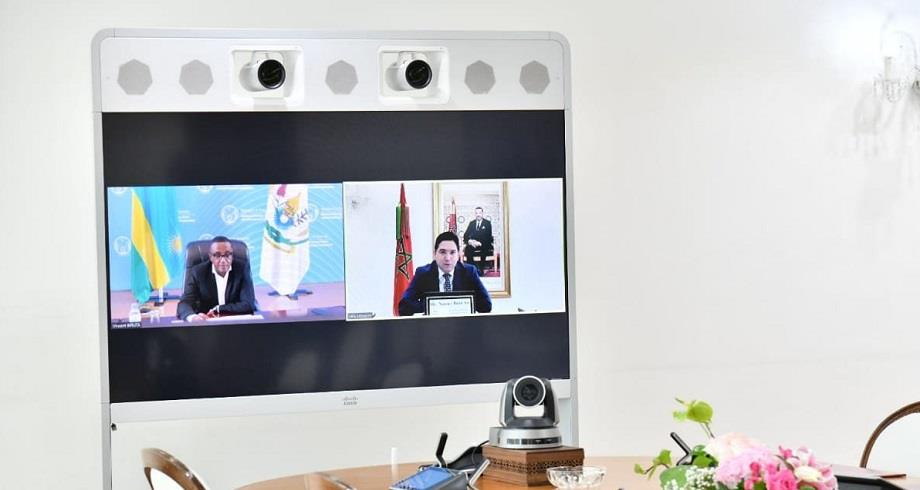 Nasser Bourita s'entretient avec son homologue rwandais