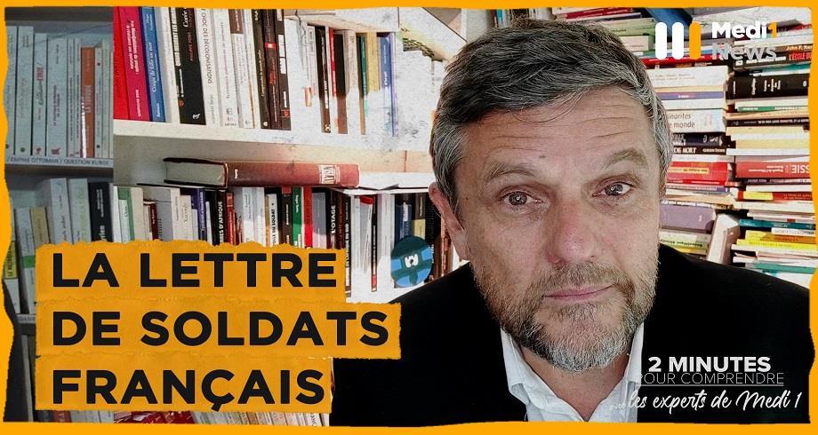 La lettre de soldats français