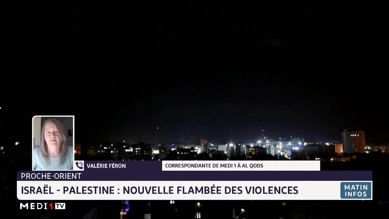 Israël-Palestine: nouvelles flambées de violences