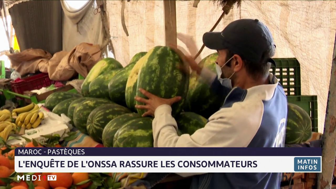 Maroc- Pastèques: l'enquête de l'ONSSA rassure les consommateurs