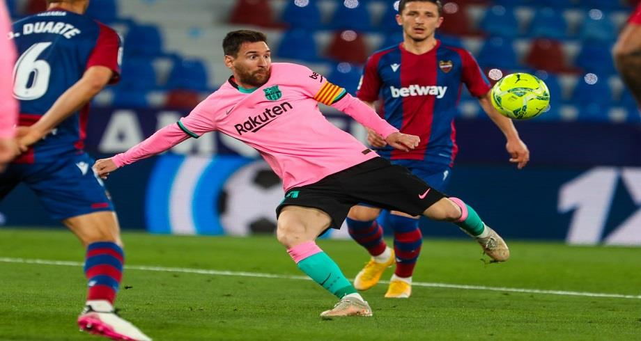 Liga: le FC Barcelone tenu en échec par Levante