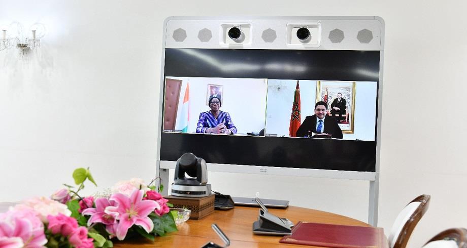 Bourita s'entretient avec son homologue ivoirienne