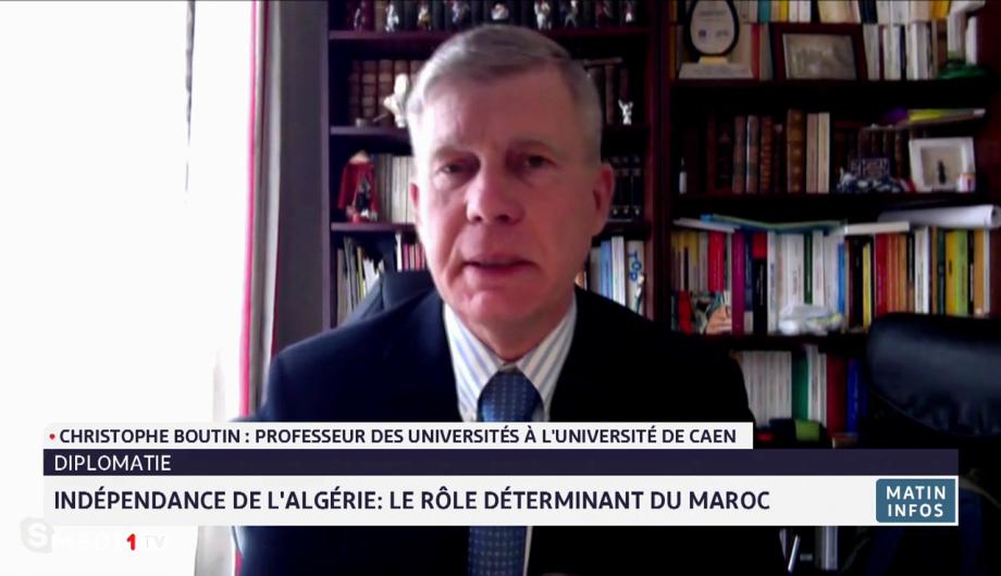 Indépendance de l'Algérie: le rôle déterminant du Maroc expliqué par Christophe Boutin