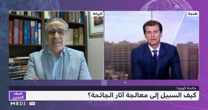 عز الدين إبراهيمي مدير مختبر التكنلوجيا الحيوية يبرز أهمية التوزيع العادل للقاحات