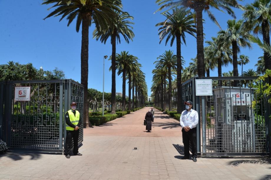 Casablanca: le parc de la Ligue arabe ouvert au public