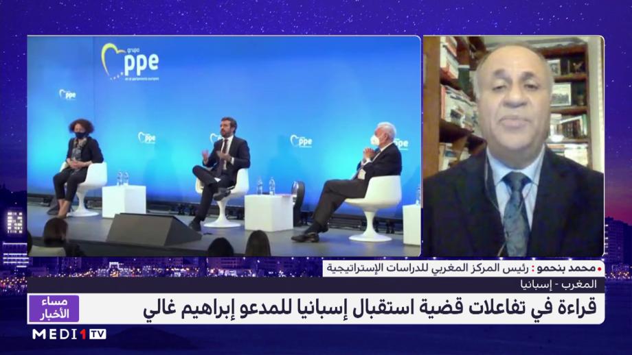 محمد بنحمو يستعرض تفاعلات استقبال إسبانيا للمدعو إبراهيم غالي