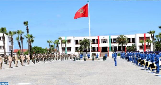اللواء الخفيف للأمن يحتفل بالذكرى الـ65 لتأسيس القوات المسلحة الملكية