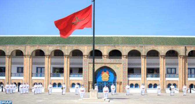 حفل بثكنة الحرس الملكي بالرباط بمناسبة الذكرى ال 65 لتأسيس القوات المسلحة الملكية