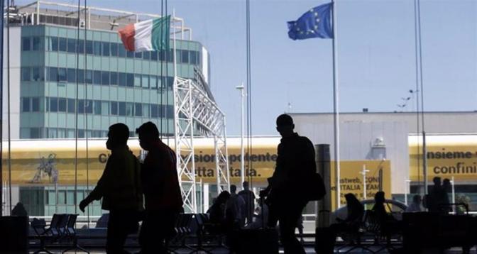 إيطاليا تعلن إعفاء المسافرين القادمين من أوروبا من الحجر الصحي
