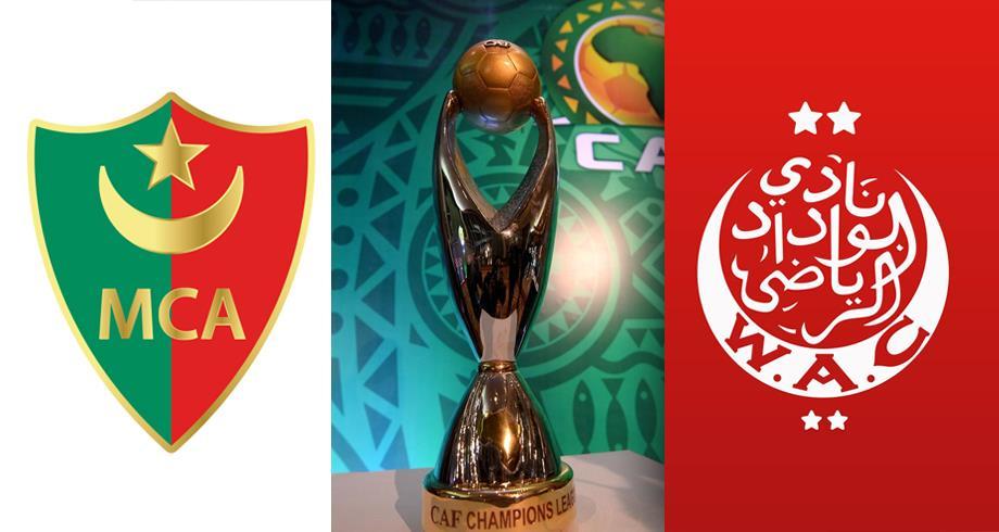 ذهاب ربع نهائي دوري الأبطال .. تشكيلتا الوداد ومولودية الجزائر