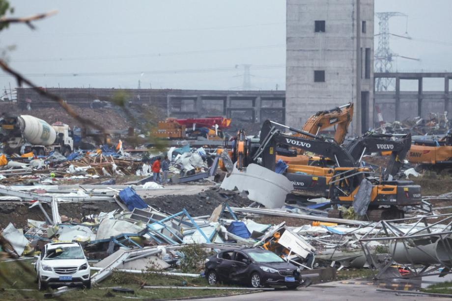 Chine: deux tornades font au moins 12 morts et plus de 400 blessés