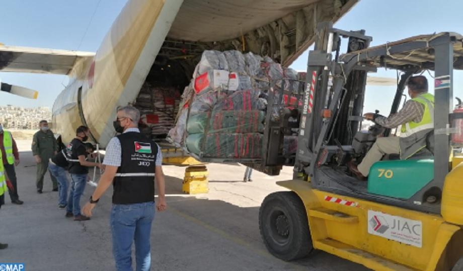 Diplomate palestinien: le peuple palestinien exprime ses vifs remerciements au Roi Mohammed VI après la réception de l'aide humanitaire