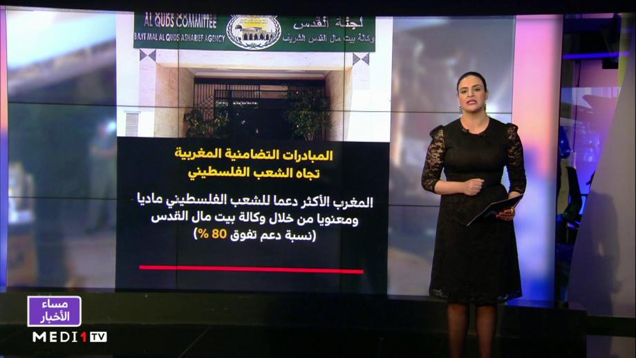 شاشة تفاعلية .. المبادرات التضامنية المغربية تجاه الشعب الفلسطيني