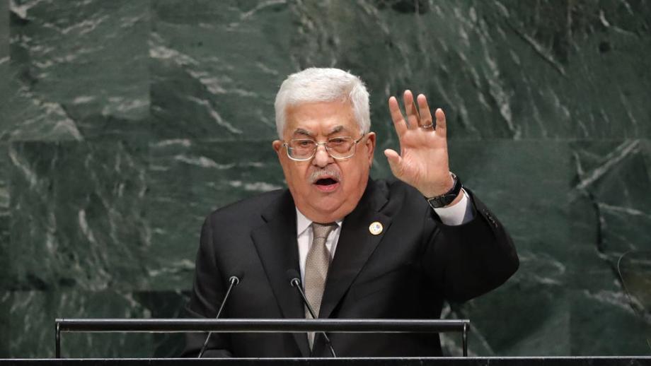 محمود عباس يدعو واشنطن إلى ضرورة التدخل لوضع حد للعدوان الإسرائيلي على الشعب الفلسطيني