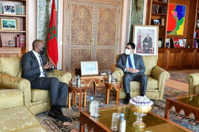 Bourita s'entretient avec le Secrétaire général de la ZLECAF