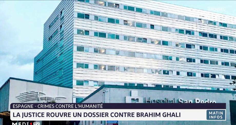 Espagne: la justice rouvre un dossier contre Brahim Ghali