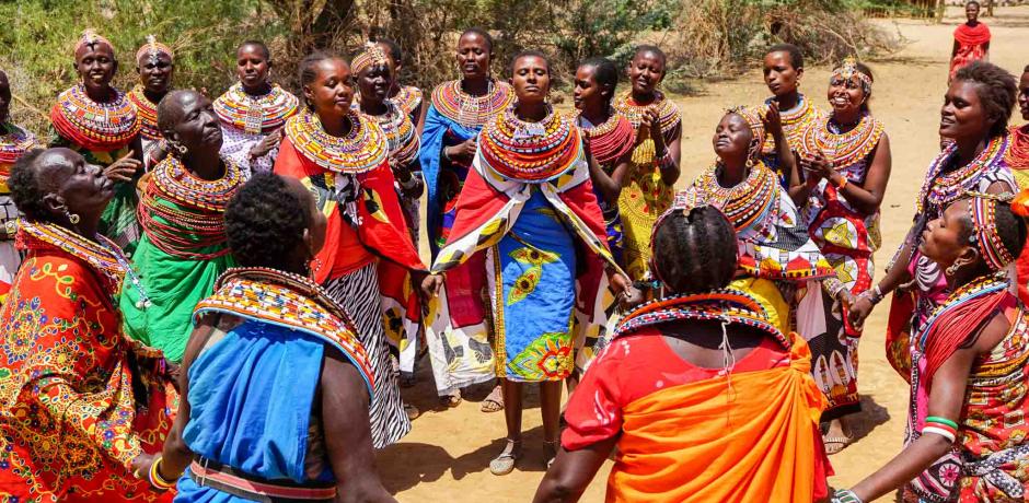 """Au Kenya, """"Umoja"""", un village interdit aux hommes"""