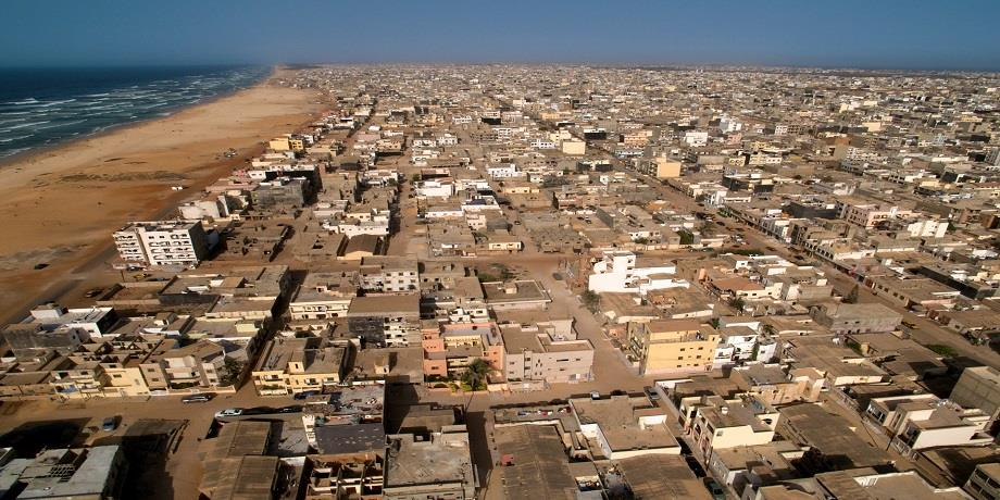 Sénégal: découpage administratif de la région de Dakar