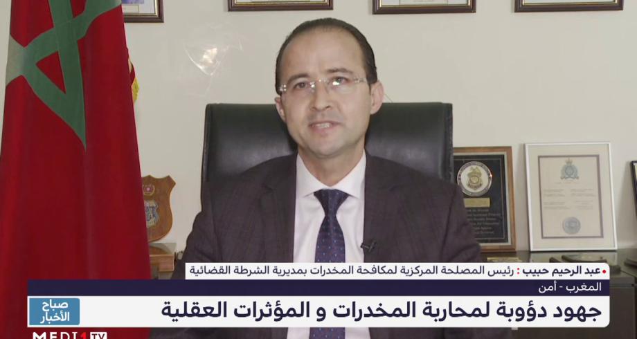 عبد الرحيم حبيب: استراتيجية مكافحة المخدرات تقوم على رؤية شاملة ومتكاملة