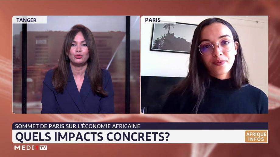 Quels impacts concrets du Sommet de Paris sur l'économie africaine ? Décryptage avec Amina Zakhnouf