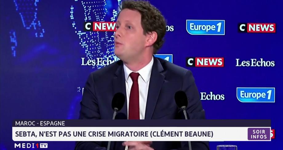 Clément Beaune: Sebta, n'est pas une crise migratoire