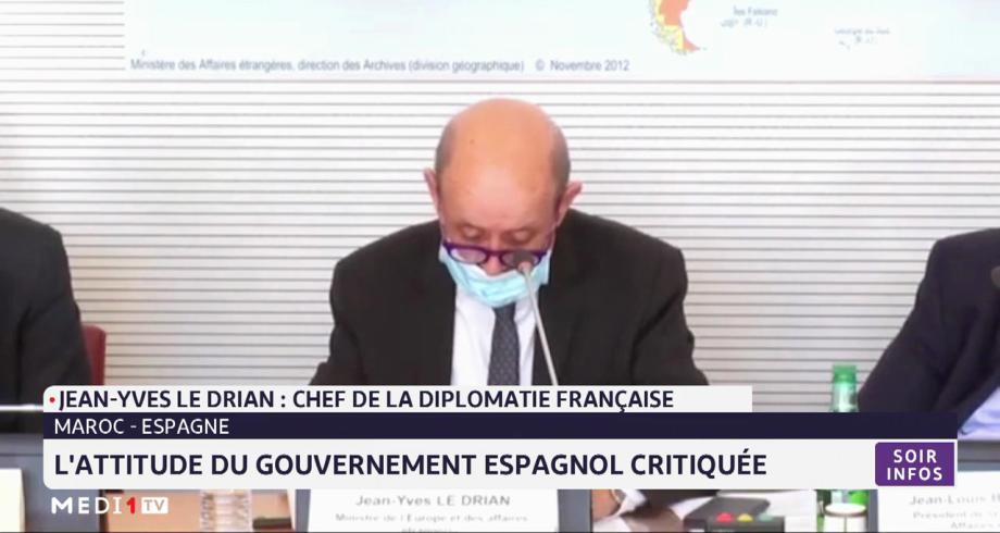 Maroc-Espagne: l'attitude du gouvernement espagnol critiquée