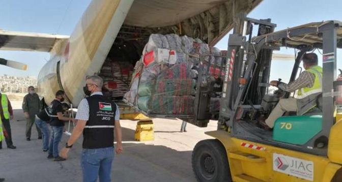 رام الله .. تسليم المساعدات الإنسانية المغربية للسلطة الوطنية الفلسطينية