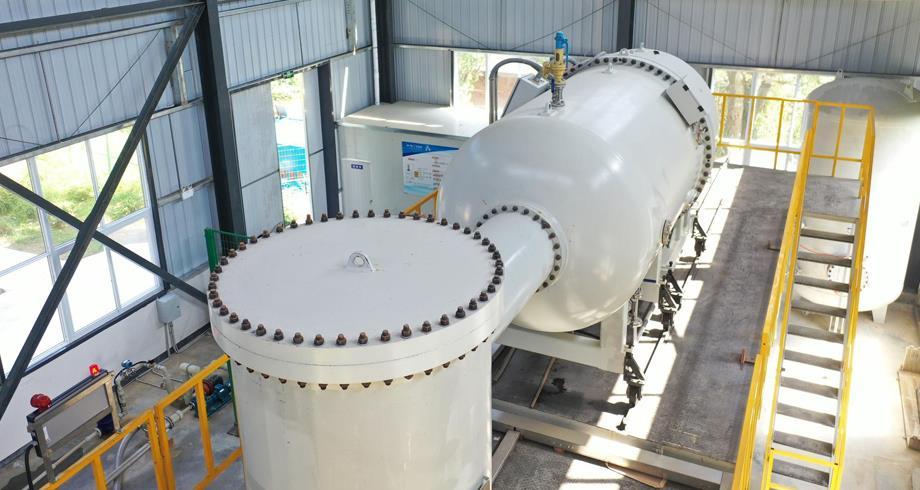 الصين تبدأ استخدام جهاز إشعاع إلكتروني للتخلص من مياه الصرف الصحي الطبية