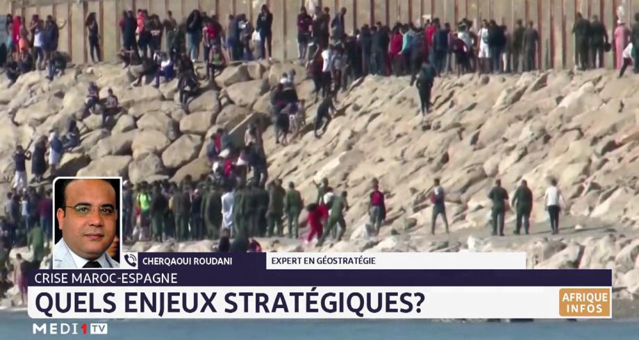 Crise Maroc-Espagne: quels enjeux stratégiques ? Selon Cherqaoui Roudani