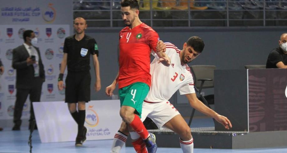 """منتخب """"الفوتصال"""" يحرز العلامة الكاملة في أول مباراة بكأس العرب"""