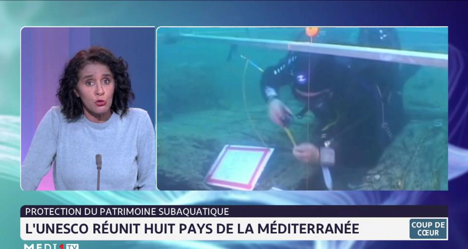 Protection du patrimoine subaquatique: l'UNESCO réunit huit pays de la Méditerranée