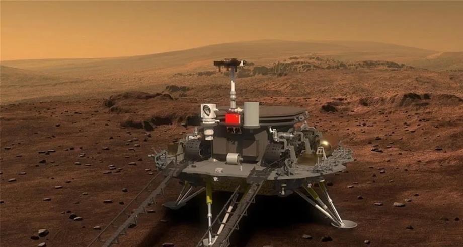 """الروبوت الصيني """"تشورونغ"""" يبدأ مهمة استكشافية في المريخ"""