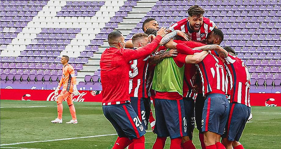 الليغا.. أتلتيكو مدريد بطلا للمرة الأولى منذ 2014