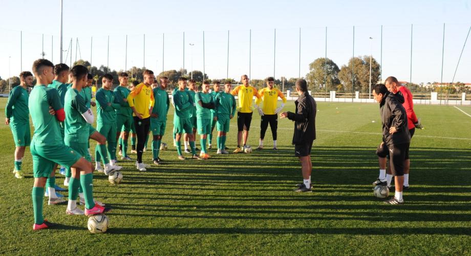 المنتخب المغربي لكرة القدم لأقل من 20 سنة يخوض تجمعا إعداديا بالمعمورة