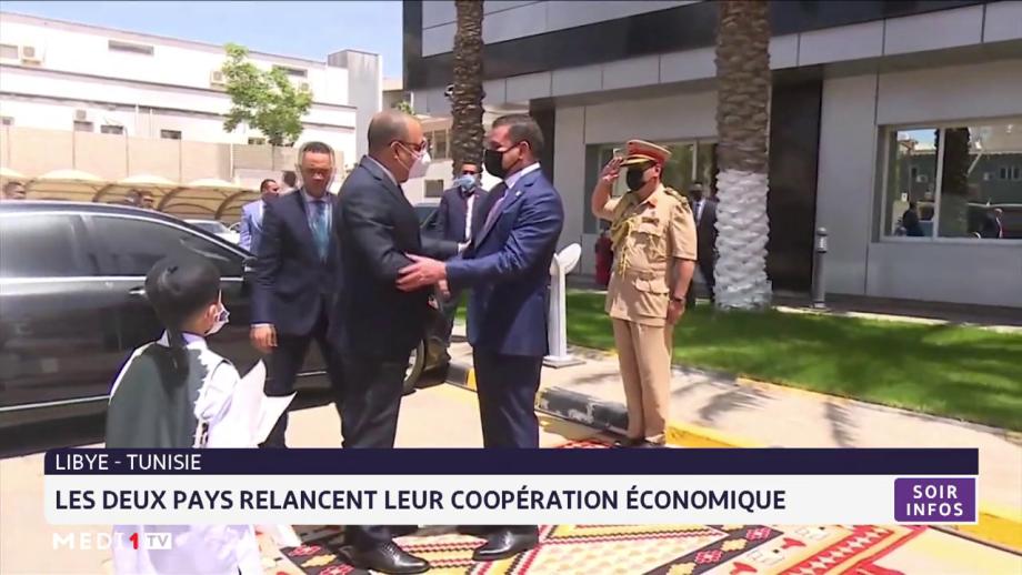 Libye-Tunisie: Les deux pays relancent leur coopération économique