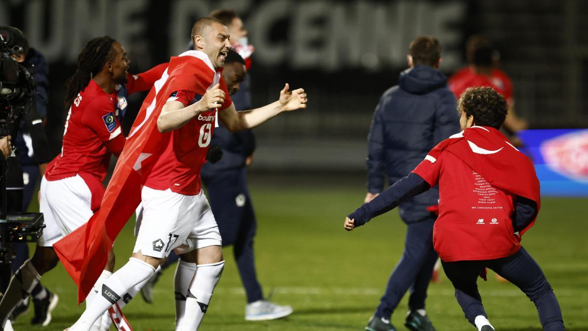 France: Lille sacré champion devant le Paris SG