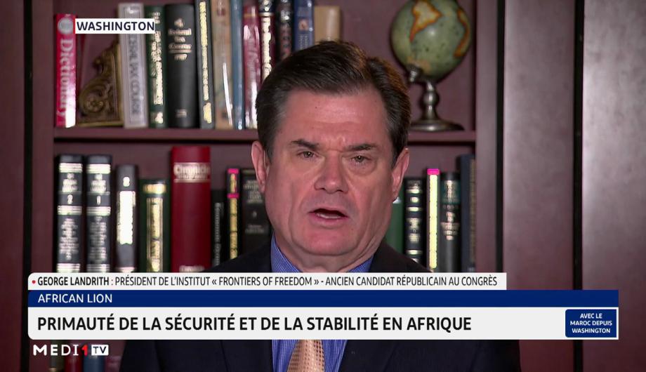 """George Landrith revient sur l'importance de l'opération """"African Lion"""""""