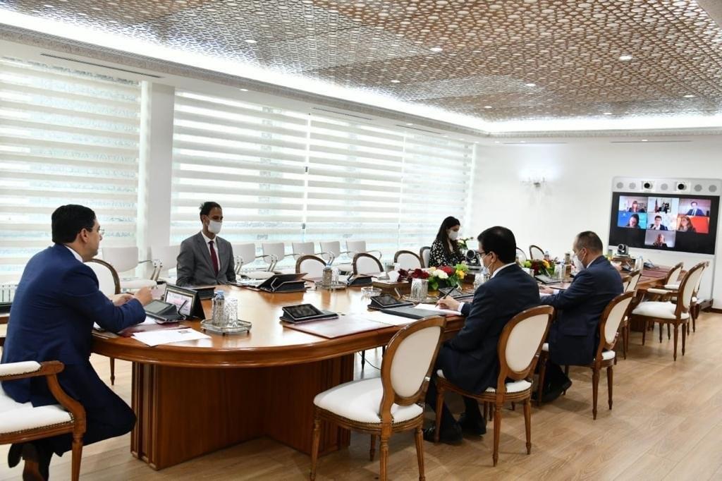 ناصر بوريطة يتباحث مع رئيسة البنك الأوروبي لإعادة الإعمار والتنمية