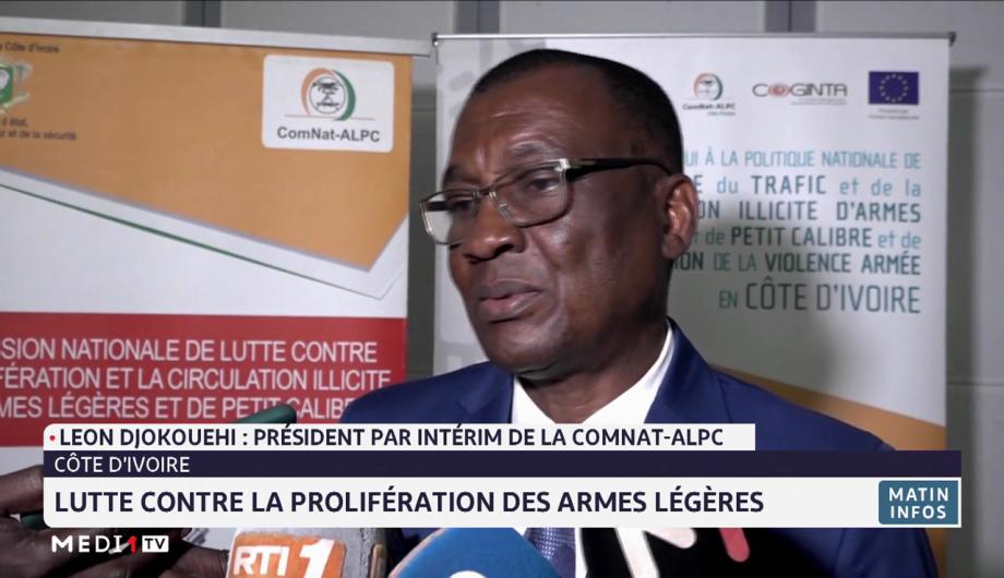 Côte d'Ivoire: lutte contre la prolifération des armes légères