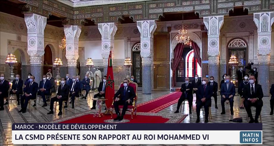La CSMD présente son rapport au Roi Mohammed VI