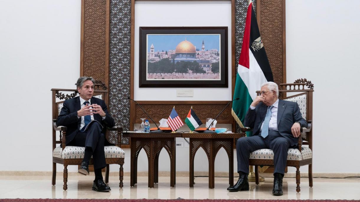 أنتوني بلينكن يؤكد رغبة واشنطن في إعادة بناء علاقتها مع الفلسطينيين