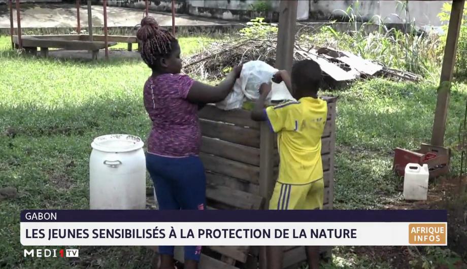 Gabon: les jeunes sensibilisés à la protection de la nature