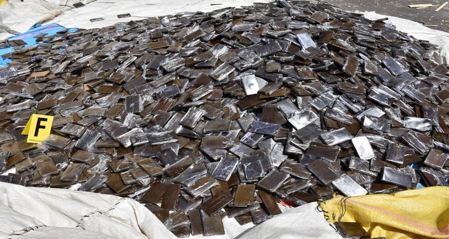 La saisie de plus de 2 tonnes de chira à Casablanca, une opération d'envergure du service préfectoral de la police judiciaire