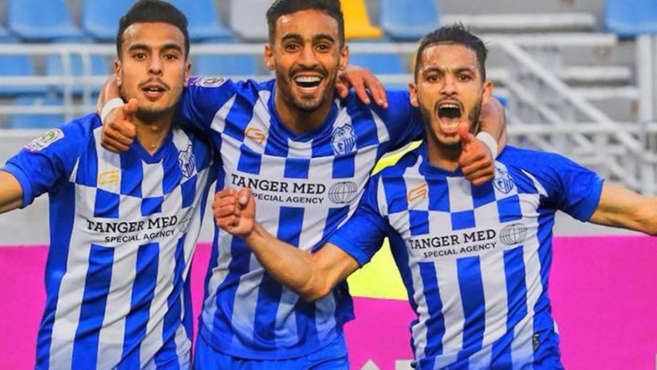 Botola Pro D1: victoire à domicile de l'Ittihad Tanger devant la Renaissance Zemamra