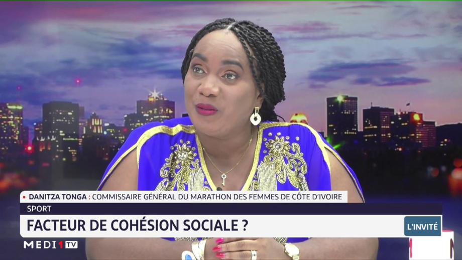 Danitza Tonga revient sur le rôle du sport comme vecteur de la cohésion sociale