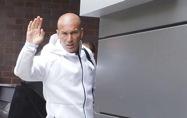 À la surprise générale, Zidane quitte le Real Madrid
